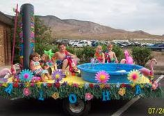 simple parade float ideas google search - Float Decorations