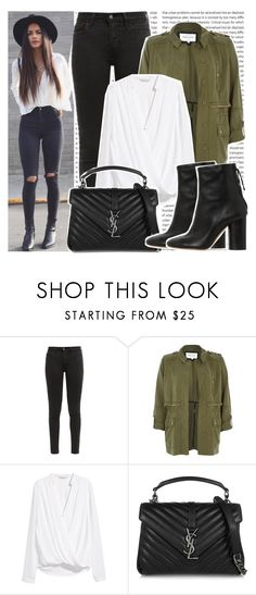 """""""#1379 Instagramer's: Sophia Miacova"""" by valucarrots ❤ liked on Polyvore featuring Levi's, River Island, H&M, Yves Saint Laurent and Isabel Marant"""