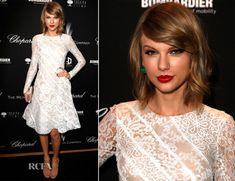 Taylor Swift In Oscar de la Renta – The Weinstein Company's Academy Award Party