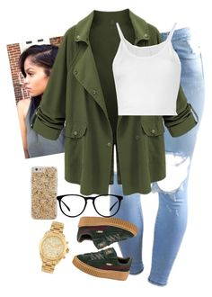 6.15.16 by mcmlxxi on Polyvore featuring polyvore fashion style Lost & Found Puma Michael Kors Case-Mate clothing