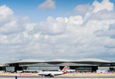 An exterior view of Terminal 2 at Heathrow Airport near London, designed by Luis Vidal + Architects, which opened in June 2014. The $4.15 billion terminal is expected to handle 20 million passengers a year.  Courtesy of: Luis Vidal + Architects