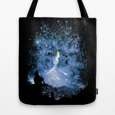 Wishful Thinking  Tote Bag by moncheng - $22.00