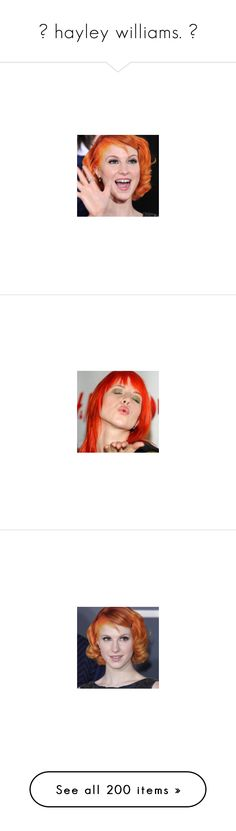 """""""▬ hayley williams. ▬"""" by disney-clipper ❤ liked on Polyvore featuring paramore, hayleywilliams, hayley, intimates and hayley williams"""