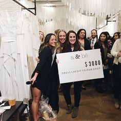 congrats to our lucky bride Kailee on winning the grand prize giveaway! | #yesdallas