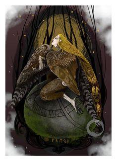 Lady Freya- Vanadis - goddess of love , beauty, fertility, gold, seiðr Norse Goddess Of Love, Goddess Art, Goddess Tattoo, Norse Pagan, Norse Mythology, Princess Toadstool, Legends And Myths, Asatru, Sacred Feminine