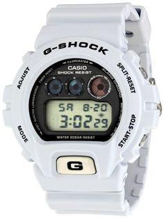 Casio Men s DW6900FS-8 G-Shock Tough Culture Watch G Shock White 74ebbe1f42