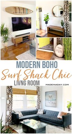 Home Decor Inspiration Looking for some beachside living inspiration? My Modern Surf Shack Chic Living Room is full of good vibes with an island-style feel. Check out my fav decor pieces. Chic Living Room, Living Room Sets, Rugs In Living Room, Living Room Decor, Room Rugs, Surf Shack, Living Room Inspiration, Home Decor Inspiration, Decor Ideas