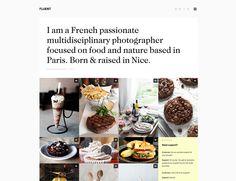 Clean Web Design, Grid theme with images without margins. #tumblrtheme #tumblr #theme #portfolio #gallery #portfolio #blogging #restaurants #website
