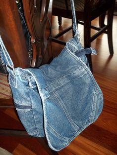 Purse Vintage Purse Denim Handbag Vintage by SuzyQsVintageShop, $13.25