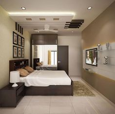 Browse images of modern Bedroom designs_ 4 bedroom apartment at SJR Watermark. Find the best photos for ideas & inspiration to create your perfect home. House Ceiling Design, Ceiling Design Living Room, False Ceiling Living Room, Bedroom False Ceiling Design, Bedroom Ceiling, Modern Ceiling Design, Fall Ceiling Designs Bedroom, 4 Bedroom House Designs, Bedroom Designs Images