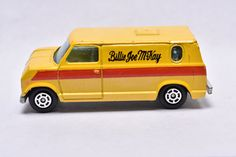 Vintage Yatming Ford Econoline Van, Billy Joe McKay, BJ and The Bear, Vintage Diecast toy Car Collection by RememberWhenToys on Etsy Vintage Toys For Sale, Toy Sale, Rolls Royce, Hot Wheels, Diecast, Classic Cars, Ford, Van, Trucks