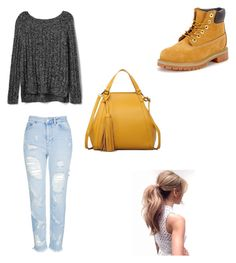 Casual by himani3446 on Polyvore featuring polyvore, fashion, style, Gap, Topshop, Timberland and clothing