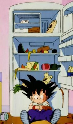 That's Goku for you. #DragonBall