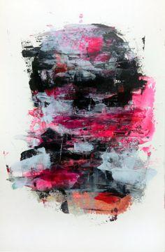 [225] untitled oil on canvas 116.8 x 80.3 cm 2013 by KwangHo Shin, via Behance