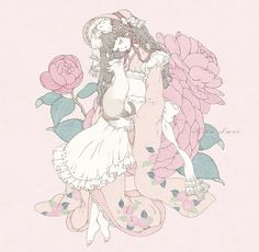 Illustration by Kira Imai. Vampire Knight, Art Vampire, Arte Do Kawaii, Kawaii Art, Angelic Pretty, Dengeki Daisy, Steampunk, Art Manga, Anime Art