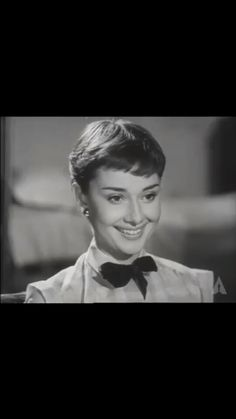 "Audrey's ""Roman Holiday"" screen test"
