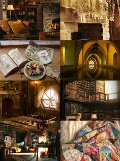 "lilacsxadelaide: "" ""hufflepuff aesthetic ♢ common room "" """