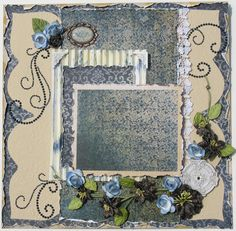 Premade Scrapbook Page from Diane's Niceties.