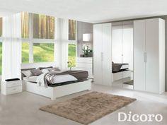 Dormitorio Athena Fresno Blanco