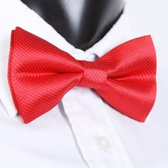 2.42$  Watch here  - Fashion Men's Tuxedo Bowtie Solid Color Neckwear Adjustable Wedding Party Bow Tie Necktie Pre-Tied Red