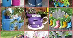 Greetings from i Creative Ideas! Relaxing and enjoying the beauty of my garden is one of my favorite leisure time during the spring and summer. So I am always on the look out for new and creative ideas to decorate my garden. Of course you can buy all kinds of fancy garden decors and planters, but …