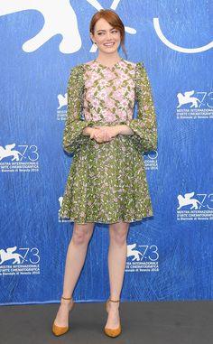 All of Emma Stone's Adorable La La Land Press Tour Looks So Far | E! Online Mobile