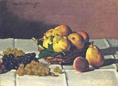 Poires et raisins (C Monet - W 104)