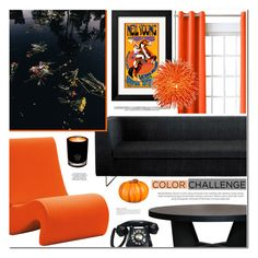 """Color Challenge"" by makeupgoddess ❤ liked on Polyvore featuring interior, interiors, interior design, home, home decor, interior decorating, Sun Zero, Blu Dot, Vitra and XVL"