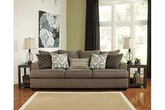 Slate Corley Queen Sofa Sleeper View 1