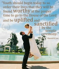 Lds temple marriage and the youth