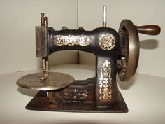 Antique Small Stitchwell Sewing Machine by the National Sewing Machine Co.