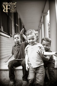 Band of brothers. Felix Rust Photography, Boston, MA