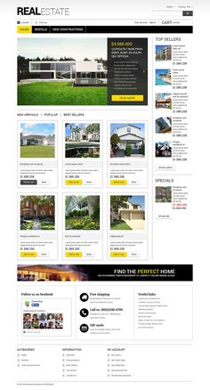Real Estate Agency Responsive