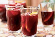 Cranberry-Raspberry Sangria