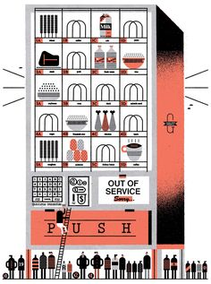 This is the online portfolio of the Canadian illustrator Raymond Biesinger. Currency Symbol, Grid Layouts, Magazine Illustration, You Draw, Flat Color, Online Portfolio, Design Show, Layout Design, Holiday Decor