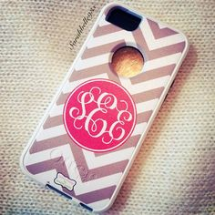 monogram iphone 5 otterbox