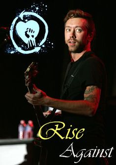 Tim McIlrath. I have never seen a more beautiful (inside and out) celebrity in my entire life. He is an absolute inspiration.