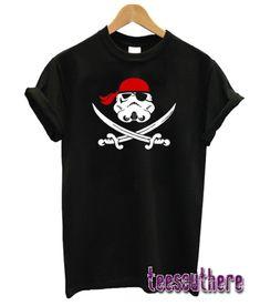 Stormtrooper Pirate (Crossed Swords) T-Shirt Stormtrooper T Shirt, Girl Style, Swords, Cool T Shirts, Gift Ideas, Nice, Tees, Amazing, Mens Tops