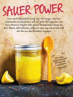 Sauer Power! Sanddorn-Smoothie als Vitamin Lieferant!  JETZT bei Readly lesen: Good Health NR.06 2016 - Seite 41