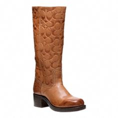 Oh great, a collaboration between Frye and Coach... THANKS A LOT, WORLD!    FRYE FOR COACH CAMPUS BOOT