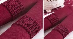 Des #ronds de #serviettes au #crochet