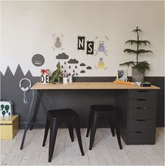 kidsdesignlife from this post incy_interiors from this post mommo design from this post minalulu from this post . Childrens Desk, Deco Kids, Corner House, Room Corner, Kid Desk, Boys Desk, Baby Boy Rooms, Kids Rooms, Room Kids