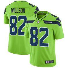 3f80fefca Nike Seahawks  82 Luke Willson Green Men s Stitched NFL Limited Rush Jersey  Seahawks Merchandise