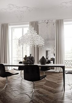 South Shore Decorating Blog: Oh. La. La. (TheUltimate Luxury - An Apartment in Paris)