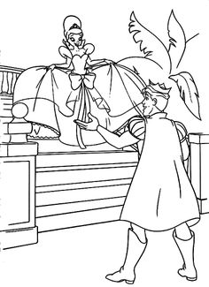 Tiana And Naveen Coloring Pages