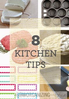 These 8 kitchen tips are practical and easy!