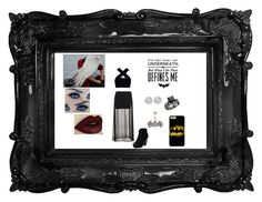 """""""Batman   ~Superhero Party Part 4~"""" by wolfie-girl1999 ❤ liked on Polyvore featuring Motel, Therapy, Benetton, Allurez, York Wallcoverings and Monday"""