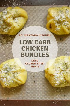 Have you ever had cream cheese chicken bundles low carb style? They are every bit as smooth and flavorful as the chicken bundles with puff pastry and cream of chicken soup.you won't feel like you're missing out at all! These keto chicken bundles are a w Low Carb Chicken Recipes, Healthy Recipes, Lunch Recipes, Low Carb Recipes, Low Carb Chicken Soup, Low Carb Soups, Lunch Foods, Cooking Recipes, Cheesy Chicken