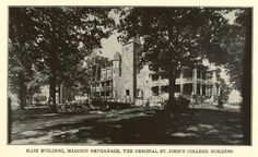 St. John's College, Oxford, NC; founded in 1855, became Oxford Orphanage after 1872; supported by Grand Lodge of North Carolina
