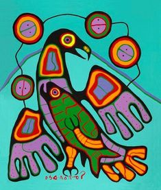 Capulet Art Gallery - Norval Morrisseau - The Great Eagle
